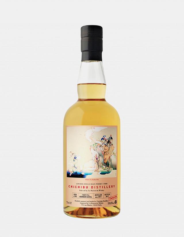 sato-creative-paris-tokyo-chichibu distillery - La Maison du Whisky - Asuka Irie - Label layout